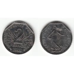 2 FRANCS SEMEUSE 1999 SPL 2F067