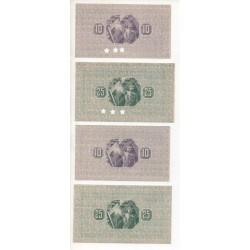 NOTGELD - HERNE - 7 different notes - 1917 (H063)