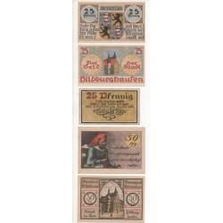 NOTGELD - HILDBURGHAUSEN - 6 different notes (H073)