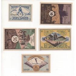 NOTGELD - IGELSHIEB - 6 different notes (I004)