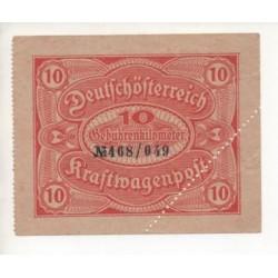 NOTGELD - KRASTWAGENPOFT (K094)