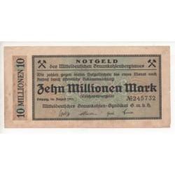 NOTGELD - LEIPZIG - 5 different notes - VARIANTE - 1923 (L043)