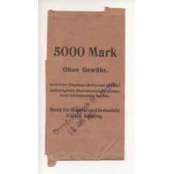 NOTGELD - LEIPZIG - 5,000 mark - 1922 (L046)