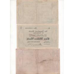 NOTGELD - LEIPZIG - 3 different notes - VARIANTE (L051)