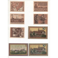 NOTGELD - LEOBSCHUTZ - 15 different notes - small numbers (L057)