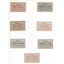 NOTGELD - LÖWEN - 7 different notes (L087)