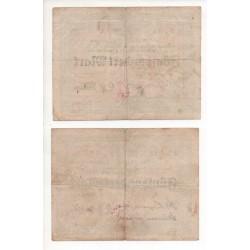 NOTGELD - MEUSELWITZ - 2 different notes (M050)