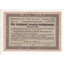 NOTGELD - MUNCHEN - GOLDMARK (M103)