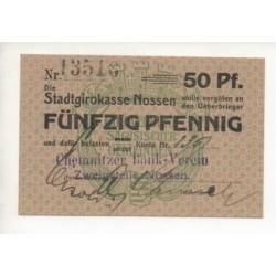 NOTGELD - NOSSEN - 50 pfennig (N080)