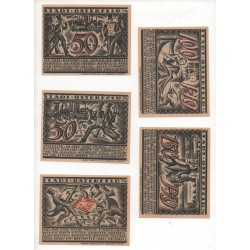 NOTGELD - OSTERFELD - 16 different notes (O023)