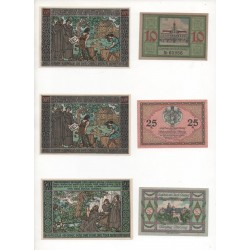 NOTGELD - OHRDRUF - 9 different notes (O037 B)