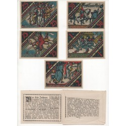 NOTGELD - PADERBORN - 19 different notes (P012)