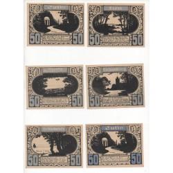 NOTGELD - PLÖN - 11 different notes (P032)