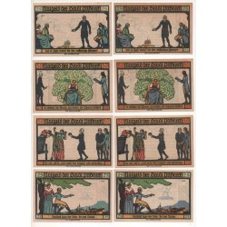 NOTGELD - POSSNECK - 12 different notes (P042)