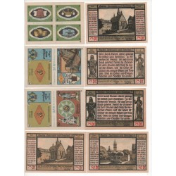 NOTGELD - POSSNECK - 20 different notes (P045)