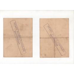 NOTGELD RAPPOLTSWELER - 4 different notes (R009)