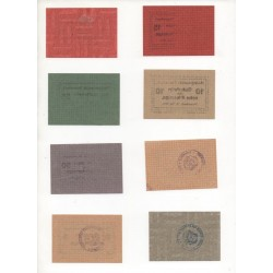 NOTGELD  STAMMBACH - 16 different notes (S180)