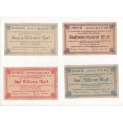 NOTGELD  STOLLBERG - 13 different notes (S186)