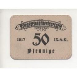 NOTGELD STUER - 50 pfennig - CAMP PRISONNIER (S205)
