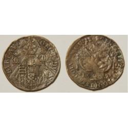 JETON duché de Lorraine 1583 CHARLES III LE GRAND DUC Bureau des Comptes