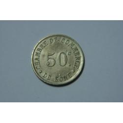 JETON 50 centimes  Chambre de commerce de Bone