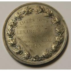 CONCOURS GENERAL DE MATHEMATIQUE 1883