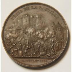 PRISE DE LA BASTILLE PAR ROGAT 1844