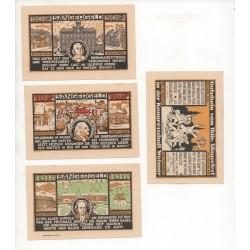 NOTGELD  WEIMAR - 9 different notes - 1918-1921 - VARIANTE (W025)