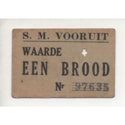 NOTGELD WAARDE - BELGIQUE - EEN BROOD (W001)