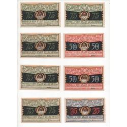 NOTGELD  ZEULENRODA - 15 different notes (Z006)
