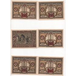 NOTGELD  TREUENBRIETZEN - 8 different notes (T038)