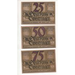 NOTGELD  TWISTRINGEN - 3 different notes (T050)