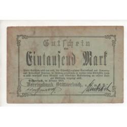 NOTGELD STÜTZERBACH - 1000 mark - 1923 (S169)