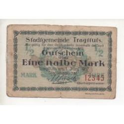 NOTGELD  STRATTUTS - 1/2 mark - RARE (S146)