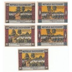 NOTGELD  SUCHSDORF - 11 different notes - VARIANTE (S215)