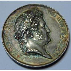 Medaille argent LOUIS PHILIPPE 1er 1841 CONCOURS AGRICULTURE SENLIS