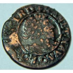 DOUBLE TOURNOIS LOUIS XIII 1631 D LYON