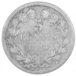5 FRANCS LOUIS XVIII Buste Nu 1822A SUP 5F016