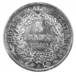 5 FRANCS CERES 1849 A Etat SUP