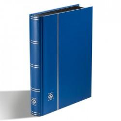 Leuchtturm Classeur BASIC A4 Bleu,64 pages noires, couverture non ouatinée