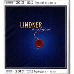 Lindner FEUILLES COMPLEMENTAIRES 2013  FRANCE