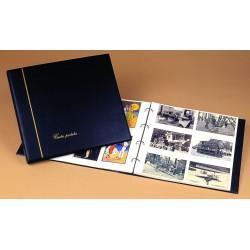 """ALBUM """"standart"""" Bordeaux pour Cartes Postales Anciennes"""