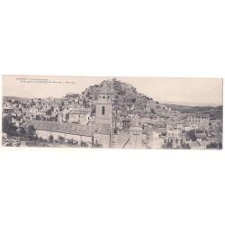 CPA Double (13) ROGNES - Vue Panoramique Après Tremblement de Terre du 11 Juin 1909