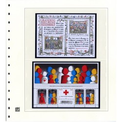 France 2009- Timbres Autocollants