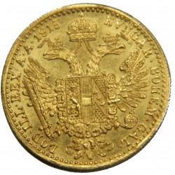 Autriche 1 ducat 1915 refrappe moderne