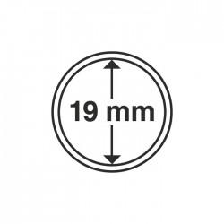 capsules rondes pour pièces de monnaie diamètre intérieur 17 mm