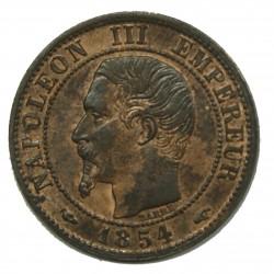 1 Centime 1854 A Napoléon III SUP+ MS 61 GENI