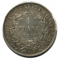 CERES 1 FRANC 1849 A SUP