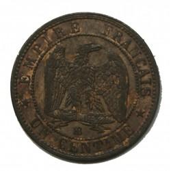 NAPOLEON III 1 Centime 1855 BB - SUP