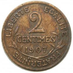 D. DUPUIS - 2 centimes 1907 SUP